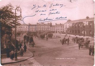 Artaud's postcard from galway
