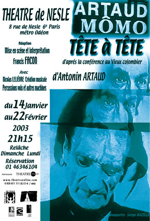 play poster for momo and tete a tete