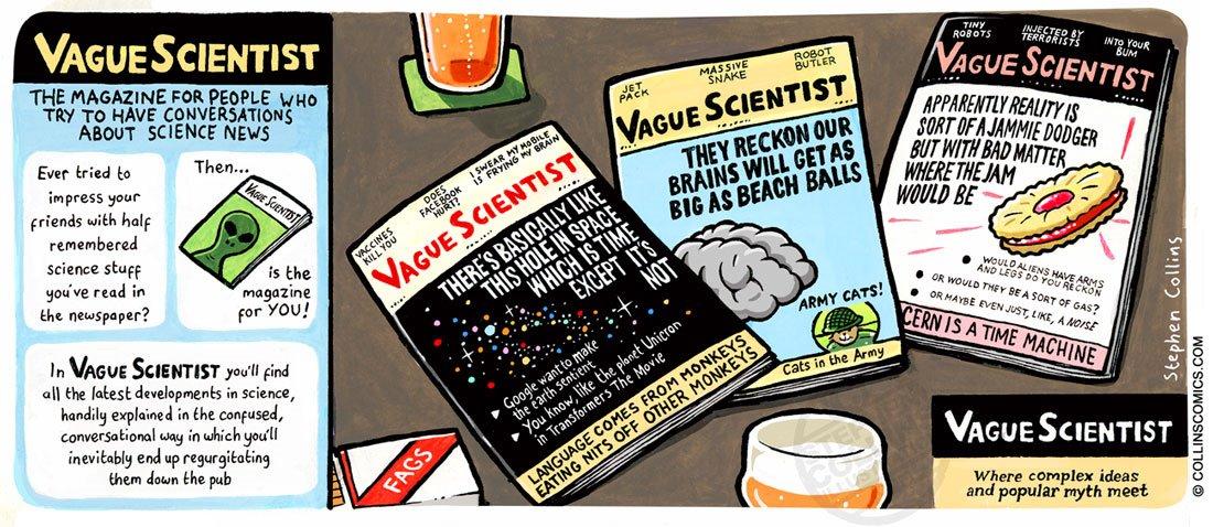 Vague scientist
