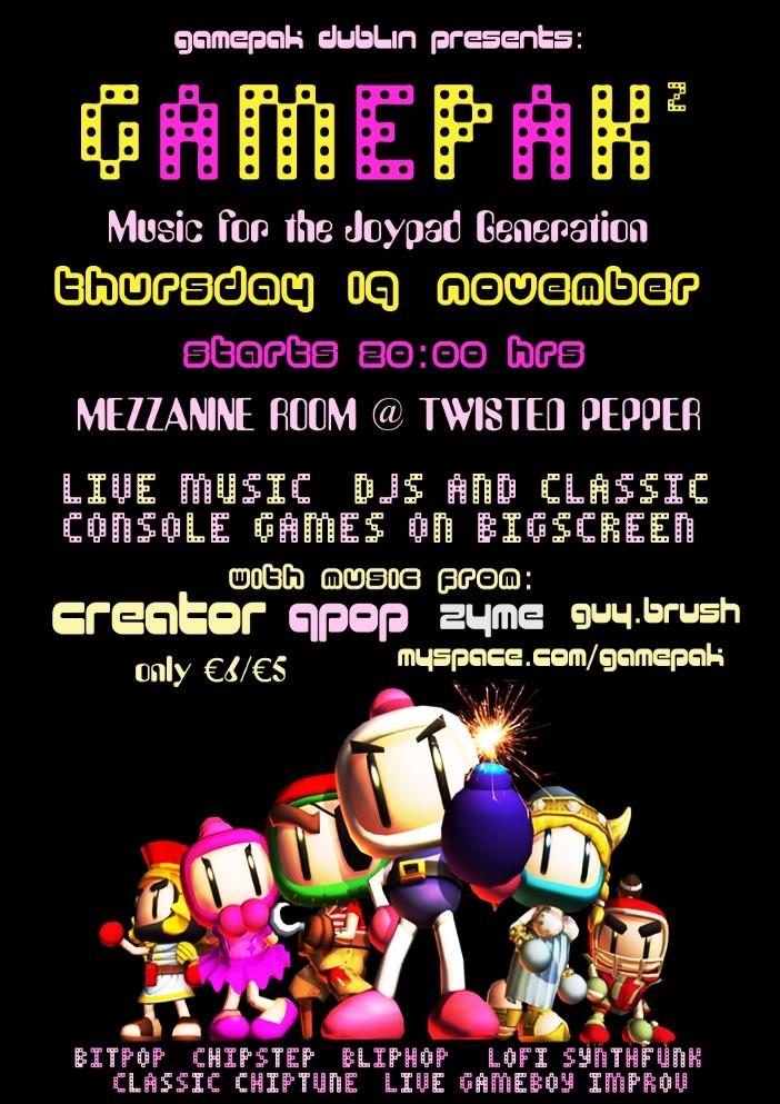 gamepak flyer